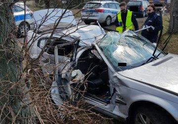 Groźny wypadek na DW 483
