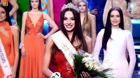 Dominika Wójcik z Moszczenicy została III Vicemiss Polski 2020