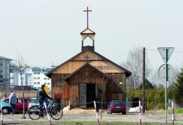 Piotrków: Kaplica już prawie gotowa