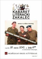 Kabaret Literacki Zakalec w piotrkowskim MOK-u