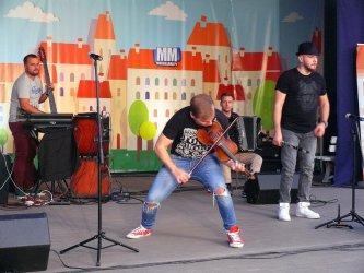 Klezmafour porwał do zabawy piotrkowską publiczność