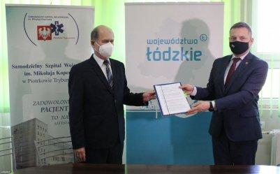 Sprzęt za miliony złotych dla piotrkowskiego szpitala