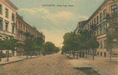 3 Maja, czyli dzieje Piotrkowa w nazwie ulicy zaklęte.