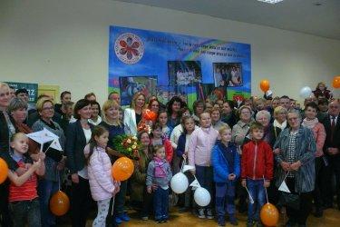 Multimedialną pracownię Fundacji Orange w Goleszach odwiedziła Anna Guzik