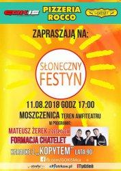 Moszczenica zaprasza na Słoneczny Festyn