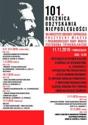 W Piotrkowie rozpoczęto już obchody odzyskania niepodległości
