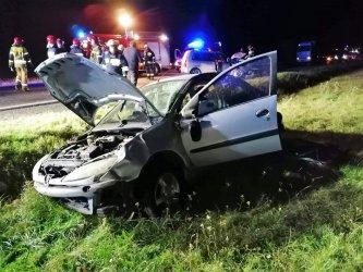 4 osoby ranne po wypadku w Rękoraju