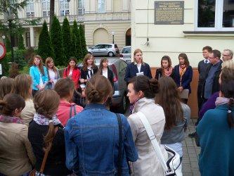Licealiści z I LO wskrzeszali dawny Piotrków