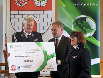Setki tysięcy złotych dla OSP z naszego regionu