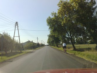 Moszczenica: Nowy asfalt na drodze wojewódzkiej