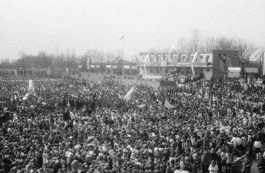 Pochody 1-majowe w Piotrkowie