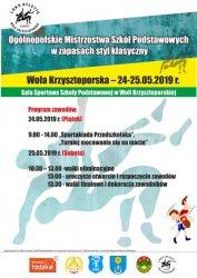 Ogólnopolskie Mistrzostwa Dzieci i Młodzieży w zapasach