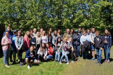 Uczniowie piotrkowskiego ZSP nr 4 wymienili się doświadczeniami ze swoimi niemieckimi rówieśnikami