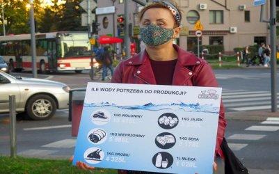 Viva! o kryzysie klimatycznym. Uliczna akcja w Piotrkowie