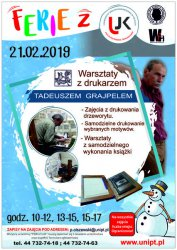 Uniwersytet Jana Kochanowskiego zaprasza na warsztaty drukarskie