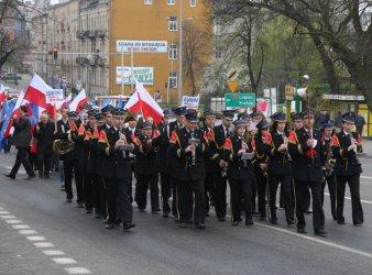 Lewica maszerowała ulicami Piotrkowa