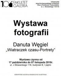 Wystawa portretów autorstwa Danuty Węgiel