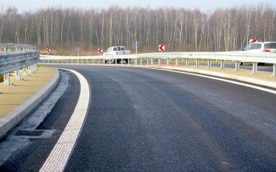 Budowa autostrady A1. Węzeł Radomsko otwarty