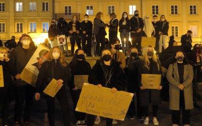 Kolejny protest w Piotrkowie. Tłumy na ulicach miasta