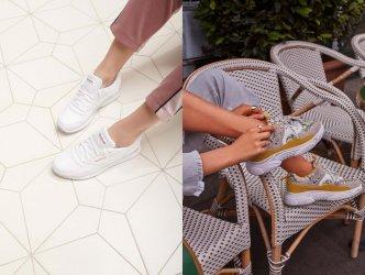 Z czym łączyć damskie sneakersy?