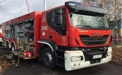 Pożar w gminie Aleksandrów