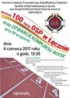 100-lecie OSP w Łęcznie