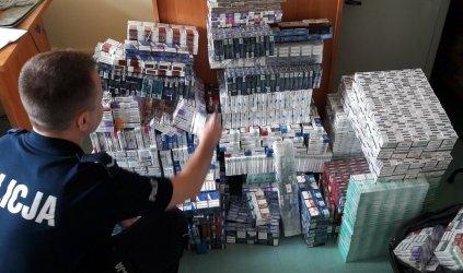 Przewoził 4 tys. paczek papierosów bez akcyzy