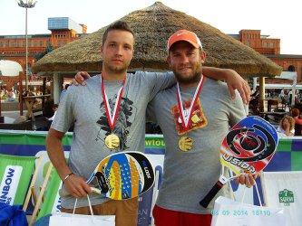 Piotrkowianin mistrzem Polski w Beach Tennisie