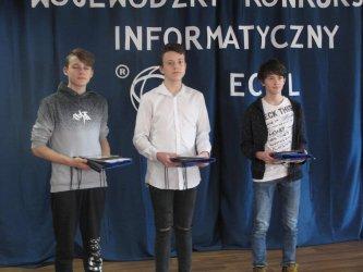 Finał V Wojewódzkiego Konkursu Informatycznego ECDL