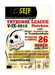Kolejne mecze w Trybunał League Piotrków