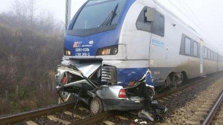 Tragedia w Piotrkowie - wjechał pod pociąg, zginął na miejscu [AKTUALIZACJA] VIDEO