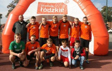 Młodzi piłkarze z Aleksandrowa najlepsi w województwie
