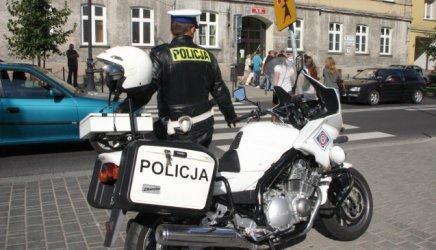 Piotrków: Policja patroluje na motorach