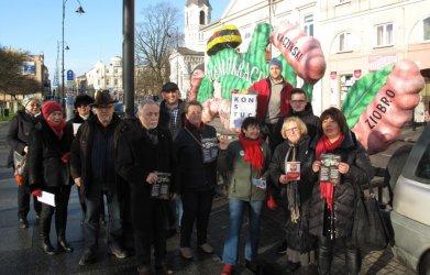 W Piotrkowie też walczą o demokrację