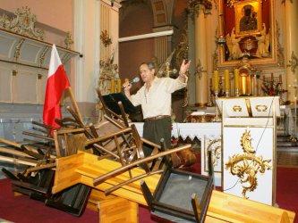 Jerzy Zelnik w Kolegiacie Wolborskiej