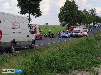 Wypadki na DK91 w Longinówce i DK12 w Sulejowie