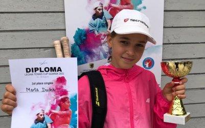 Międzynarodowy sukces piotrkowskiej tenisistki