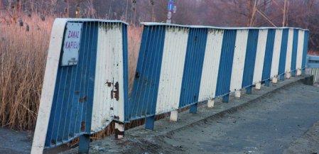 Piotrków: Uwaga, most uszkodzony!