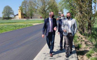 Ostatnie ustalenia w sprawie budowy drogi Tuszyn-Czarnocin