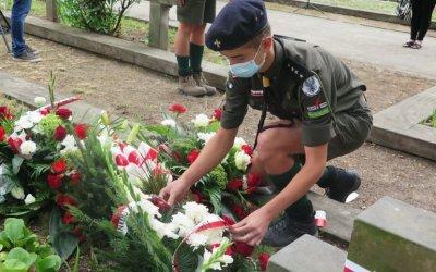 15 sierpnia w Piotrkowie. Uroczystości na cmentarzu wojennym