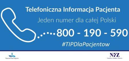 Rusza Telefoniczna Informacja Pacjenta