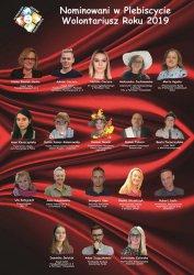 Aż 18 nominowanych do tytułu Wolontariusz Roku 2019!