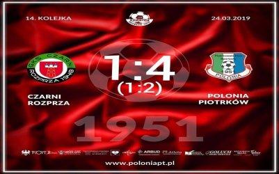 Polonia też wygrała pierwszy wiosenny mecz