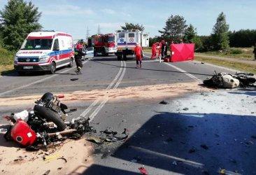 Dwaj motocykliści zginęli w wypadku w Kleszczowie. Niebezpiecznie na drogach także w powiecie tomaszowskim