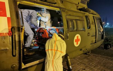 Żołnierze wsparli LPR w transporcie zakażonego