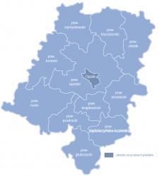 Rezolucja w sprawie podziału województwa