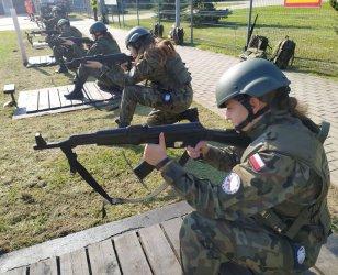 Kadeci z ZS CKZ w Bujnach ćwiczyli pod okiem zawodowych żołnierzy