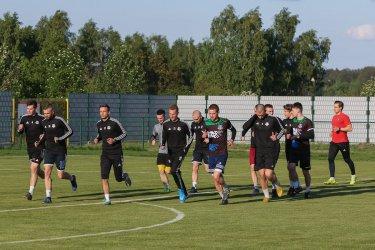 Piłkarze Polonii wrócili do normalnych treningów
