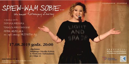 Koncert Katarzyny Zawiszy w MOK-u
