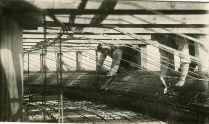 Budowa wieży ciśnień – archiwalne zdjęcia